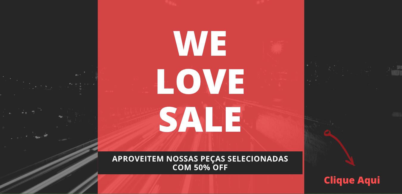 Banner We Love Sale